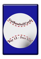 1986 Sportflics Baseball - Finish Your Set *GOTBASEBALLCARDS