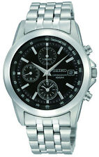 SCNP SNDC09P1 Seiko Gents Date Display Chronograph Bracelet Watch