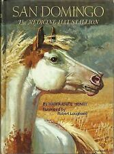 San Domingo : The Medicine Hat Stallion by Marguerite Henry (1986, Hardcover)
