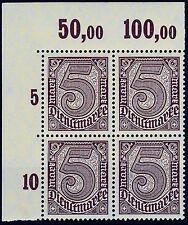 === DR Dienst Mi. 33b ** Vierer Oberrand Platte, gepr. BPP, Kat. 280€ ===