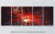 "Modern Original Metal Wall Art Abstract Indoor Outdoor Decor ""Magical Series"""