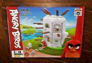 Angry Birds 224pc RED'S HOUSE Building Blocks Set - #EK81003 (2019, Edukie)