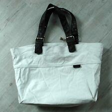 b79d168bdfd61 ESPRIT Damen Tasche Schultertasche Beuteltasche aus Canvas   beige   groß
