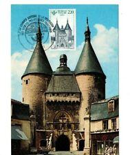 Postkaart van Nancy Frankrijk met postzegel 1ste dag afstempeling Nr. 2419 /1986