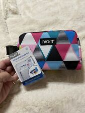 PACKIT NWT Freezable Snack Box Portable Travel Mini Food Cooler