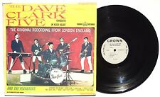 THE DAVE CLARK & THE PLAYBACKS: Self Titled LP CROWN CLP5400 US 1964 MONO VG+