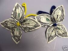 Hawaiian Money $2 Dollar Origami Butterfly 2 Monetary Gift