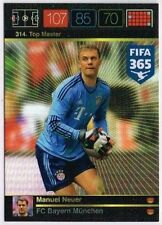 314. Manuel Neuer Top Master Panini Adrenalyn XL FIFA 365 World Top Teams