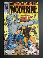 Marvel Comics Presents #61 Wolverine Hulk 1990