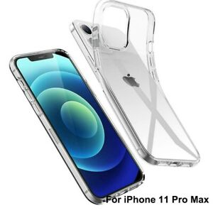 Shockproof Clear Case Transparent Phone Protective Cover For iPhone 11 Pro Max