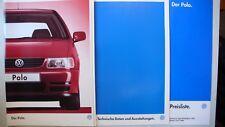 Prospekt Volkswagen VW Polo, 5.1996, 60 Seiten + Daten/Ausstattungen +Preisliste