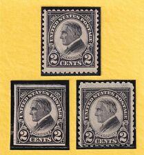 US STAMP SC# 610-612 2c 1923 *MINT NG CV$20.00 414