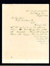 U.S. Grant Autograph Letter Signed HUGE Civil War Date (PSA/DNA Authenticity)