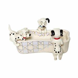 Disney Traditions 101 Dalmatians 'Puppy Bowl' Figurine