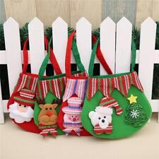 Bauble Santa Claus Bag Candy Bags Christmas Tree Decor Box Xmas Decoration Hs3