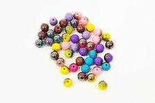10 perle Mixte Brillant 10mm, Perle magique, creation bijoux, colier, bracelet