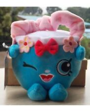 "Authentic NWT 7"" Plush Shopkins Handbag Harriet Purse Bag Stuffed Doll Toy Game"