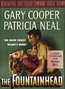 The Fountainhead - 1949 - Gary Cooper Patricia Neal King Vidor Vintage Film DVD
