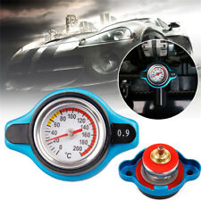 0.9Bar Thermo Thermostatic Radiator cap Cover Water temperature Gauge Universal