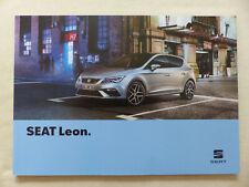 Seat Leon Style FR Cupra X-Perience MJ 2019 - Prospekt Brochure 03.2019