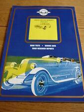 """JAGUAR XJ 1968 to 1983  """"UNIQUE"""" BOOK jm"""