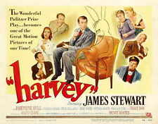 HARVEY Movie POSTER 22x28 Half Sheet James Stewart Josephine Hull Victoria Horne