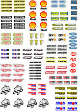 WaterSlide Decals Transfers 1:18 Scale Model RC SlotCar Scalextric Stickers