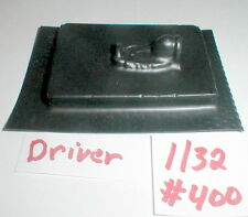 "1) Slot Car Driver interior with Head NOS  2 1/4"" X 3 1/4"" 1960 1/32Vintage #400"