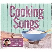 Cooking Songs (2013) various artists 3cd new free uk postage