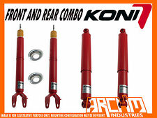 FORD FALCON BA BF SEDAN 9/2002-4/2008 KONI ADJUSTABLE F & R SHOCK ABSORBERS