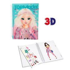 "Carnet coloriage poche 3D TOPModel ""Candy"""