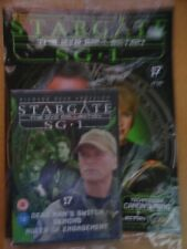 DVD COLLECTION STARGATE SG 1 PART 17 + MAGAZINE - NEW SEALED IN ORIGINAL WRAPPER