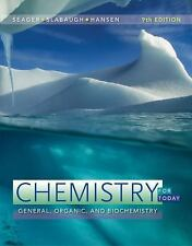 Chemistry for Today: General, Organic, and Biochemistry, Hansen, Maren S.,Slabau