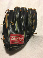 Rawlings RBG36B The Finest In The Field Baseball Glove 12 1/2 inch RHT Preowned