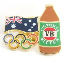 V.B VICTORIA BITTER BEER BOTTLE SYDNEY OLYMPIC GAMES 2000 PIN BADGE COLLECT #248