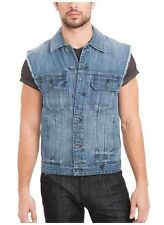Guess Denim Vest In Bengal Wash Size L