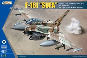 KINETIC 48085 # 1:48 F-16I 'SUFA' WITH IDF WEAPONS