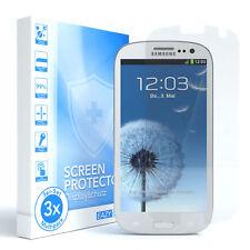 3x Samsung Galaxy S3 / Neo Panzerfolie Displayschutz Schutzfolie Folie Klar
