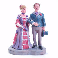 Beauty Restored Lemax 2003 Ballroom Couple Village Collection #32677 Retired