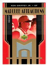 Ken Griffey Jr. 2005 Upper Deck Marquee Attractions Jersey Gold #KG