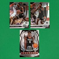2020-21 PANINI PRIZM ANTHONY EDWARDS ROOKIE RC BASKETBALL LOT (3) TIMBERWOLVES