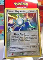 "Holon's Magnemite 70/113 ""Stamped"" ( Ex Delta Species ) Holo Pokemon Card HP"