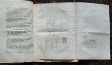 1827 octobre Bulletin de la SOCIETE D'ENCOURAGEMENT Industrie Science Techniques