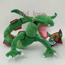 "Pokemon Plush Rayquaza #384 Soft Toy Stuffed Animal Doll Legendary 29"" in Length"