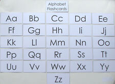 Teacher Made Literacy Learning Resource Alphabet Flashcards
