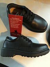 BNIB Little Boy/Girls Sz US 12.5 Thomas Cook  Black Leather School Shoes RRP $80