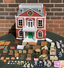 Sylvanian Families Regency Hotel Dolls House Calico Critters Furniture Figures