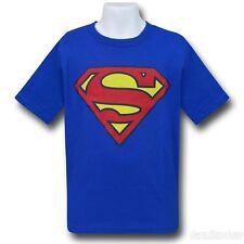 Superman Kids Royal Blue Symbol T-Shirt - 5/6 Yrs Medium