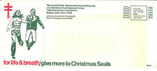A postaly used envelope from Xmas seal drive year is unknown.  Different!
