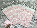 100 Designer Printed Poly Mailers 10X13 Shipping Envelopes Bags PINK BOUTIQUE